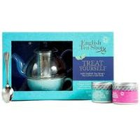 English Tea Shop Loose Leaf Teas and Teapot