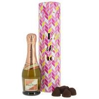 Pink Fizz and Truffles Gift Set