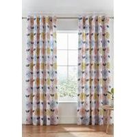 Retro Floral Curtains