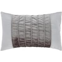 Corded Velvet Bands Cushion