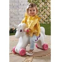 Unicorn Rocker and Ride-On All-In-One