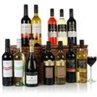 Twelve Wines Wicker Hamper