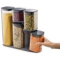 Joseph Joseph Podium 5-Piece Storage Jar Set