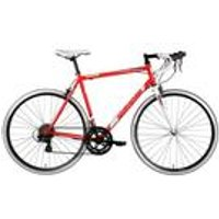 Barracuda Corvus 100 Steel Road Bike STI Red/White