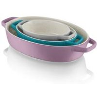 Fearne By Swan Set of 3 Oval Oven Dishes