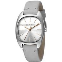 Esprit Infinity Womens Watch with Light Grey Leather Strap