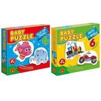 Twin Pack Baby Puzzle Moto World and Ellie and Friends