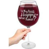 XL Wine Glass - Happy Hour
