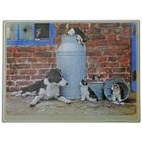 Kitchy and Co Cats Chopping Board