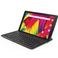 10.1 Inch 2-in-1 Black Android Tablet