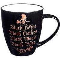 Black Coffee Black Clothes Mug