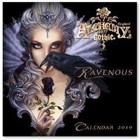 Alchemy Gothic Ravenous 2019 Wall Calendar