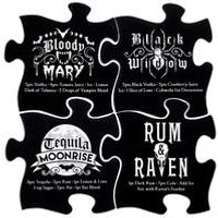Gothic Cocktail Coasters
