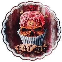 Skull Cupcake Serving Plate