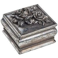 Antique Rose Trinket Box