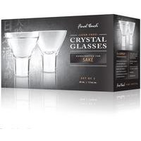 Final Touch Durashield Sake Glasses 2 Pack