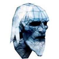 Game of Thrones Mask: White Walker Book