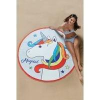 Novelty Unicorn Beach Towel
