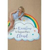 Novelty Rainbow Cloud Beach Towel