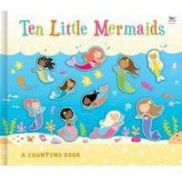 Ten Little Mermaids Counting Book