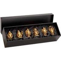Mini Buddha Set of 6