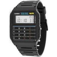 Casio Water Resistant Retro Calculator Watch