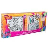 Trolls 3 Pack Colour Your Own Bag Set