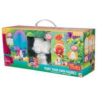 Trolls Pack of 3 Paint Your Own Figurines