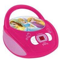 Lexibook Disney Princess Boombox Radio CD Player