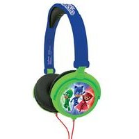 Lexibook PJ Masks Foldable Stereo Headphones with Volume Limiter