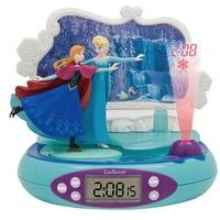 Lexibook Disney Frozen Projector Alarm Clock with Radio