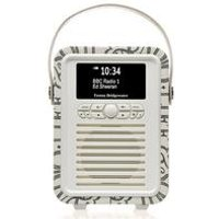 VQ Retro Mini DAB+ Digital Radio and Alarm Clock