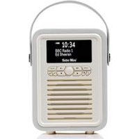 VQ Retro Mini DAB+ Digital Radio with Alarm Clock
