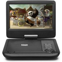 HKC 9 Inch Portable In-Car DVD Player