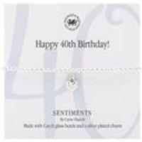 Happy 40th Birthday! Bracelet