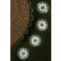 Pack of 4 Ground Solar Lights