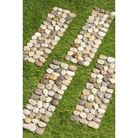 Pack of 4 Pebble Path Edging