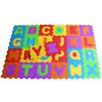 Darpje Alphabet 26-Piece Floor Mat Puzzle