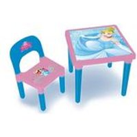 Disney Princess My First Activity Table and Chair with Colouring Set