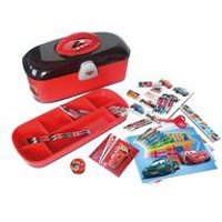 Disney Cars Toolbox with Creative Stationery Set