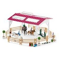 Schleich Club Riding School with Riders and Horses