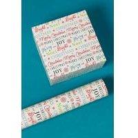 3m Christmas Carols Roll Wrap