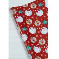 3m Santa and Rudolph Roll Wrap