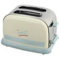 KitchenOriginals by Kalorik Pastel Script 2-Slice Toaster