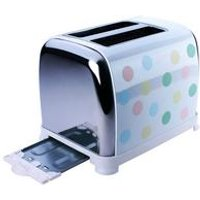 KitchenOriginals by Kalorik Pastel Spot 2-Slice Toaster