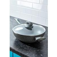 Salter Marble Forged Aluminium Wok