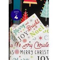 4 Christmas Carols Tags