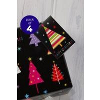 4 Brights Trees Tags