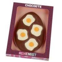Chocolate Alchemist Fried Egg Design