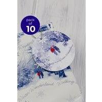 10 Winter Scene Gift Tags